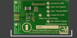 One Dollar Board: Arduino- kompatible-Platine für $1