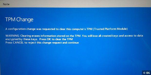 Windows 10 lässt sich auf dem Tablet nicht zurücksetzen - PC