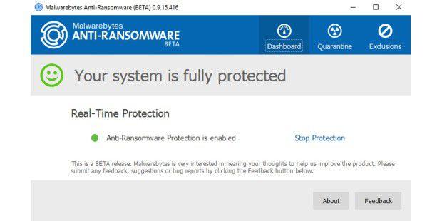 Malwarebytes will mit Antiransomware ein spezielles Abwehrsystem gegen Erpressersoftware liefern. Aktuell ist das Schutzprogramm in der Betatestphase und kostenlos erhältlich.