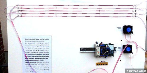 Arduino projekt ein schlauchdisplay selber bauen pc welt