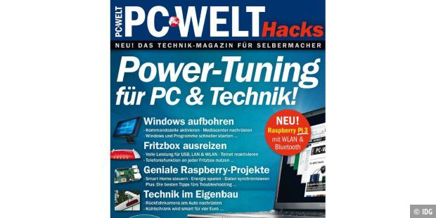Sonderheft gratis zum Download: Power-Tuning für PC & Technik