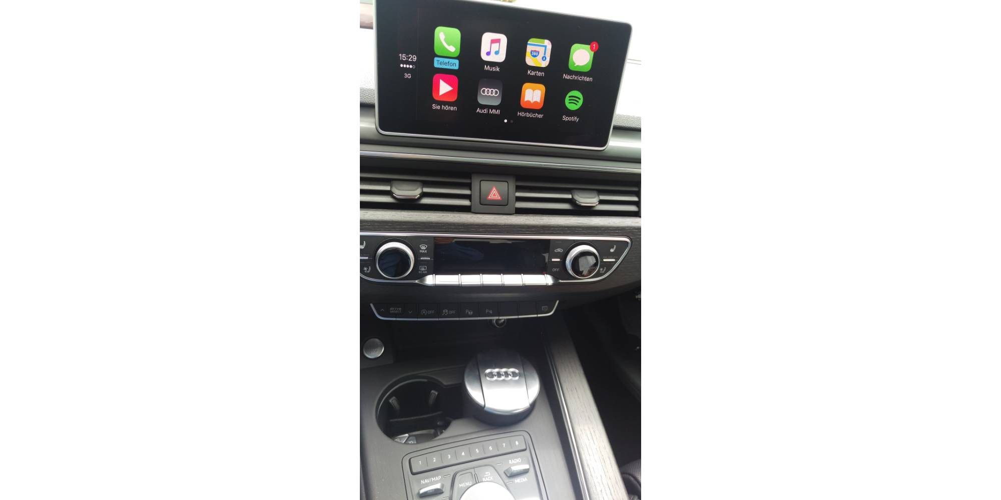 Audi A4 mit Connect, MMI, Carplay, Android Auto und App im Test - PC ...