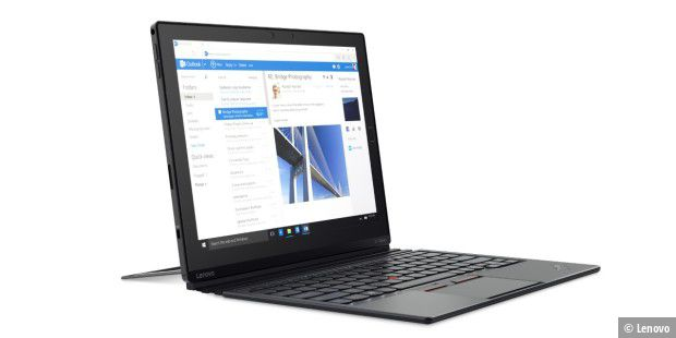 Starkes 2in1-Gerät mit Windows 10 Pro: Lenovo Thinkpad X1 Tablet im Test