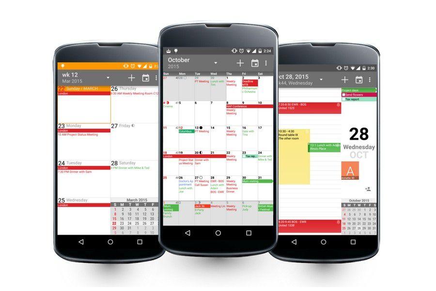 die besten kalender apps f r android pc welt. Black Bedroom Furniture Sets. Home Design Ideas