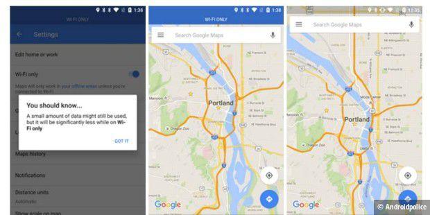 Google Maps bekommt WLAN-only-Modus und bessere ÖPNV-Informationen on