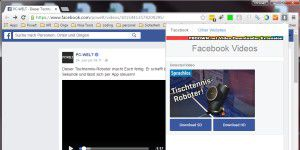 Facebook Video Download mit allen Geräten