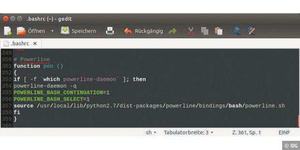Linux-Terminalprompt für Ästheten: Der Bash-Prompt mit