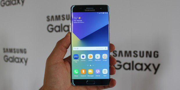 Samsung Galaxy Note7: Display