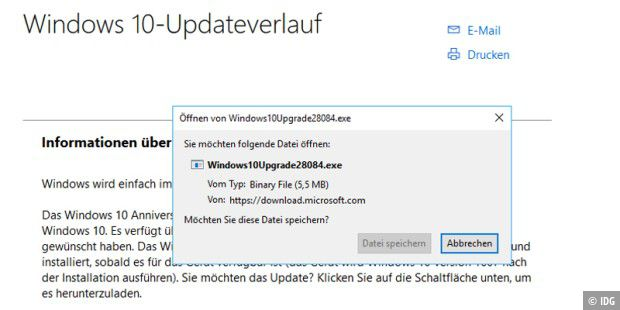 Microsoft-Tool Windows10Upgrade28084.exe