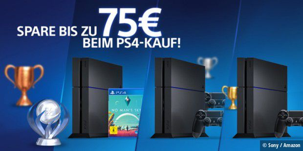 bonus aktion bis zu 75 euro beim ps4 kauf sparen pc welt. Black Bedroom Furniture Sets. Home Design Ideas