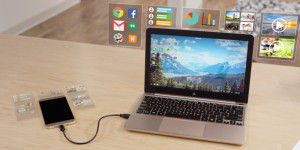 Superbook: Laptop-Dock für Android-Smartphones
