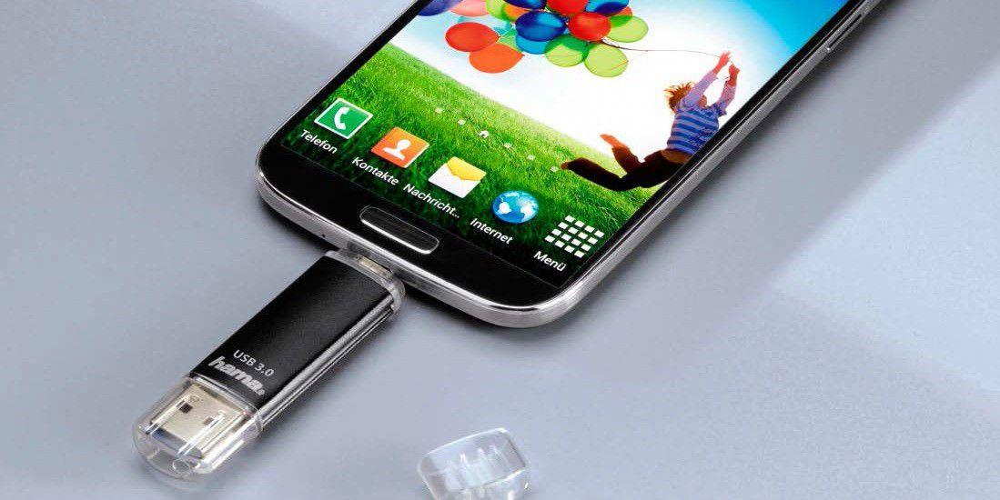 spezial usb sticks f r ihr smartphone f r mehr speicher pc welt. Black Bedroom Furniture Sets. Home Design Ideas