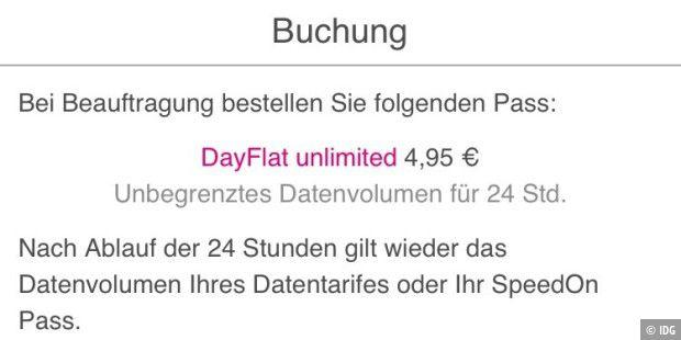 dayflat unlimited von telekom ohne datenlimit und. Black Bedroom Furniture Sets. Home Design Ideas