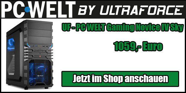 UF - PC WELT Gaming Novice IV Sky