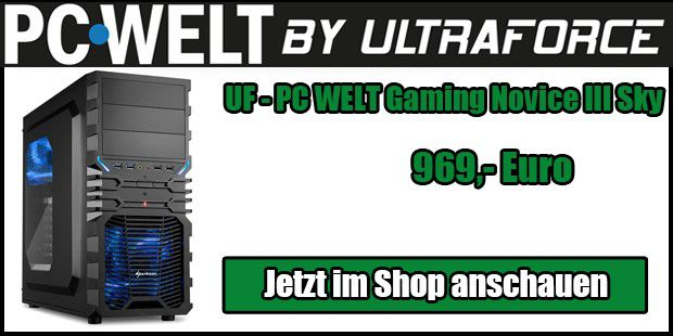 UF - PC WELT Gaming Novice III Sky