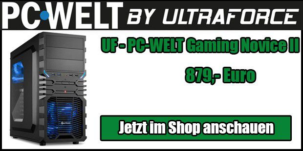 UF - PC-WELT Gaming Novice II