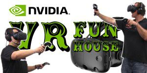 VR-Battle - Team Hölle im Duell in Nvidias VR Funhouse
