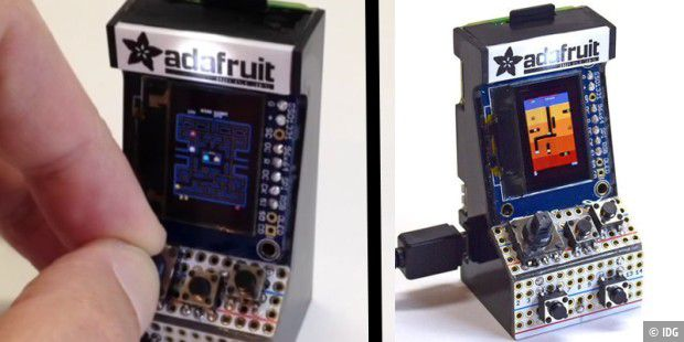 World's Smallest MAME Arcade Cabinet @adafruit