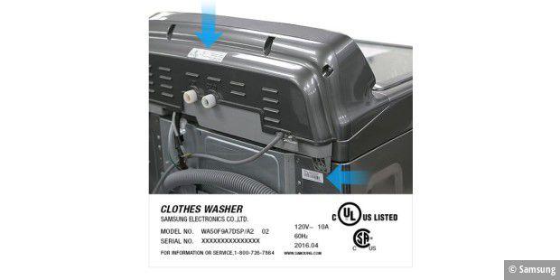 verletzungsgefahr samsung ruft 2 8 millionen waschmaschinen zur ck pc welt. Black Bedroom Furniture Sets. Home Design Ideas