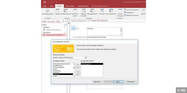Ruckzuck mit Microsoft Access eine Datenbank erstellen - PC-WELT