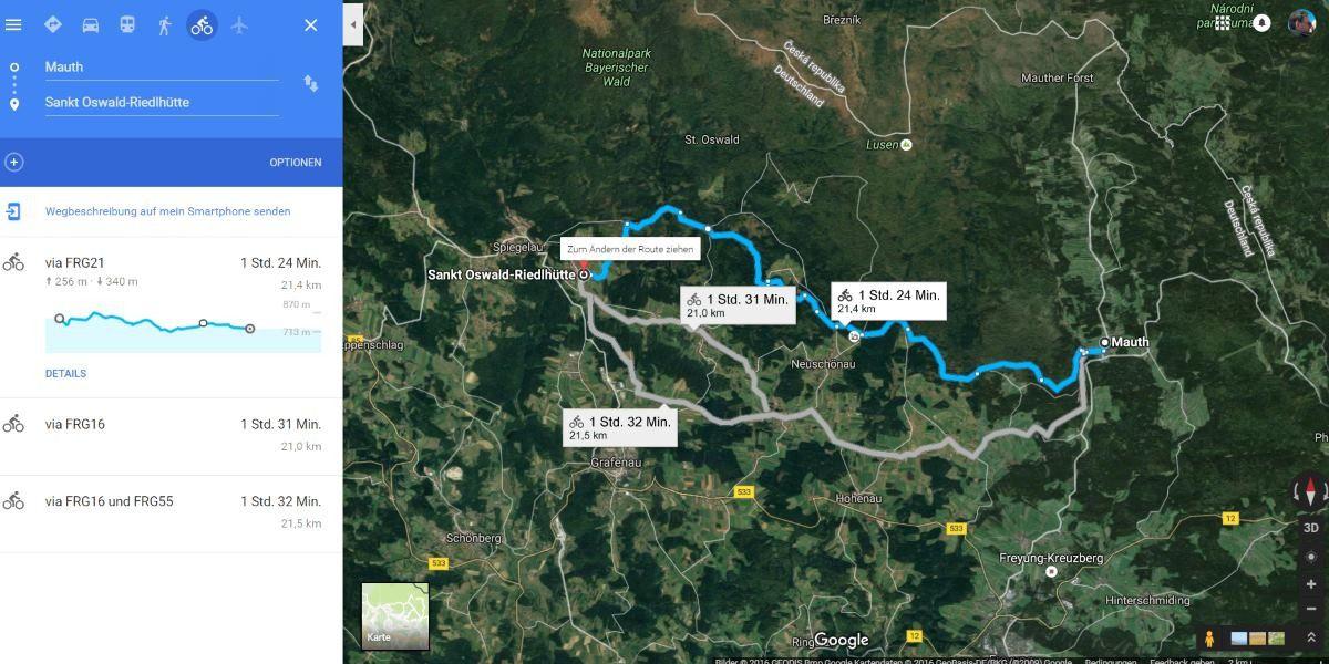 Google Maps Höhenmeter Anzeigen