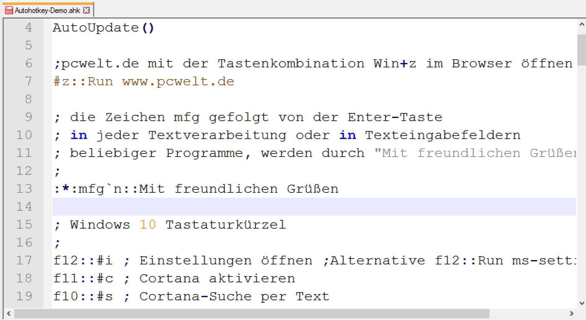 Hotkeys & Makros: Windows 10 effizienter bedienen - PC-WELT