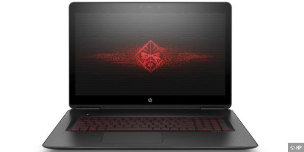 Gaming-Laptop mit Geforce GTX 1070 im Test: HP Omen 17