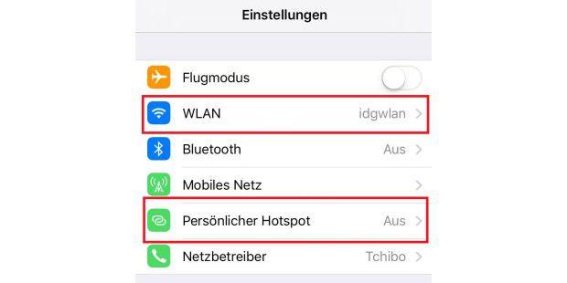 windows 8 mit android hotspot v