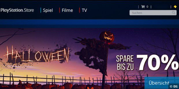 Halloween-Sale im Playstation Store