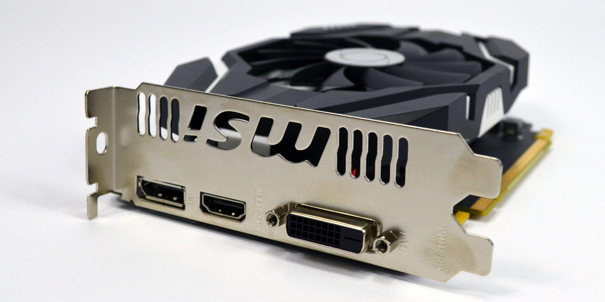 Msi Geforce Gtx 1050 Ti Oc Im Test Pc Welt 4gb Ddr5 Vergrern Unsere Verfgt Ber Displayport Hdmi Und Dvi