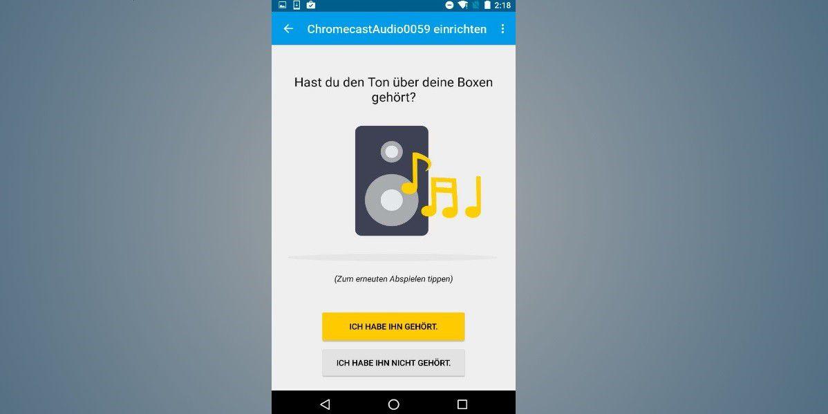 Können Sie Chromecast an einen Empfänger anschließen