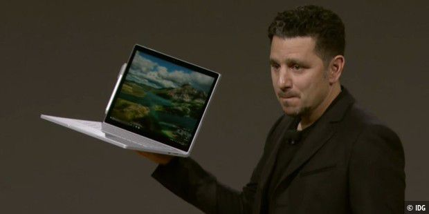 Microsoft Surface Book i7: 3x schneller als MacBook Pro 13