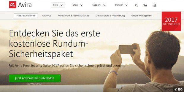 Avira Free Security Suite 2017 Bietet Rundum Schutz Gratis Pc Welt