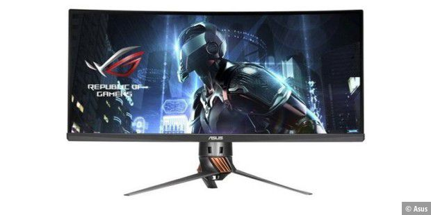 Gaming-Monitor Asus ROG Swift PG348Q mit Curved Panel