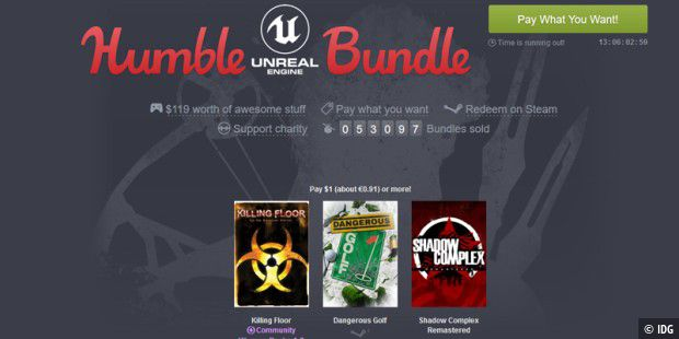 Das neue Humble Unreal Engine Bundle