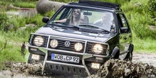 Der Golf Country war eine Allrad-Version des Golf.