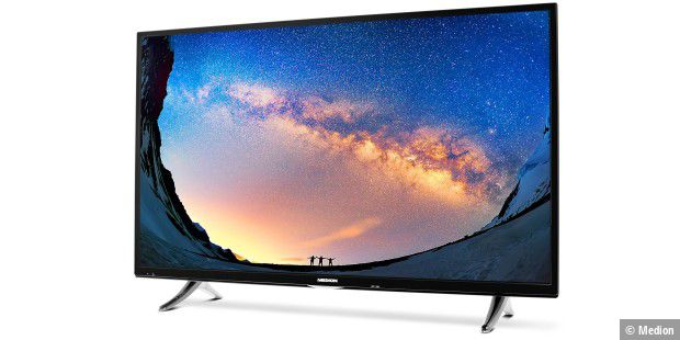 uhd smart tv von aldi mit 55 zoll f r nur 499 euro medion life x18068 pc welt. Black Bedroom Furniture Sets. Home Design Ideas