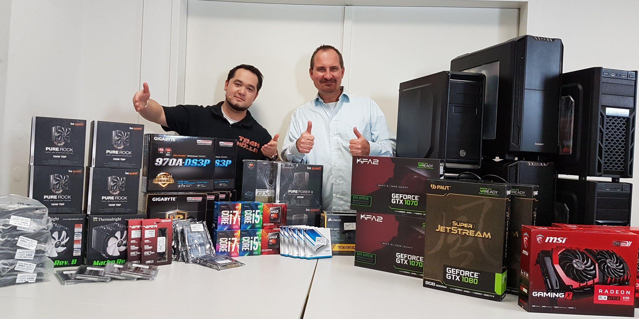 7000 euro gewinnspiel gaming pcs f r 800 1000 und 1500. Black Bedroom Furniture Sets. Home Design Ideas