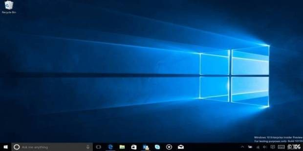 Windows 10 Oberfläche