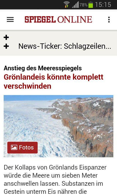 Die besten news apps f r android pc welt for Newsticker spiegel