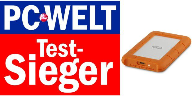 Testsieger: LaCie Rugged USB-C