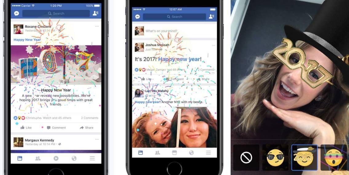 Facebook Coole Glückwunsch Funktionen Zu Neujahr Pc Welt