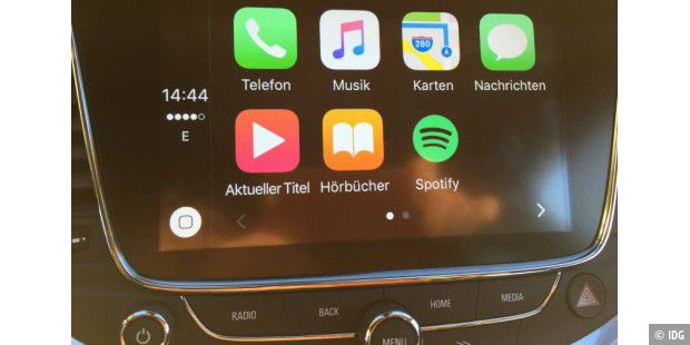 Apple Carplay im Astra
