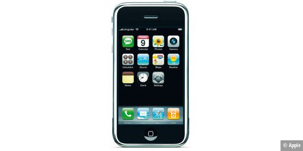 r ckblick wie das erste iphone die welt ver nderte pc welt. Black Bedroom Furniture Sets. Home Design Ideas