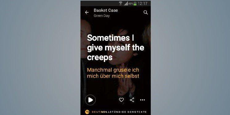Lied Erkennen App