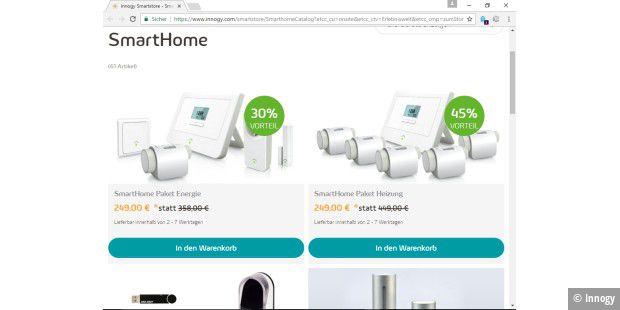 vergr ern innogy bietet seine smarthome produkte in form von. Black Bedroom Furniture Sets. Home Design Ideas