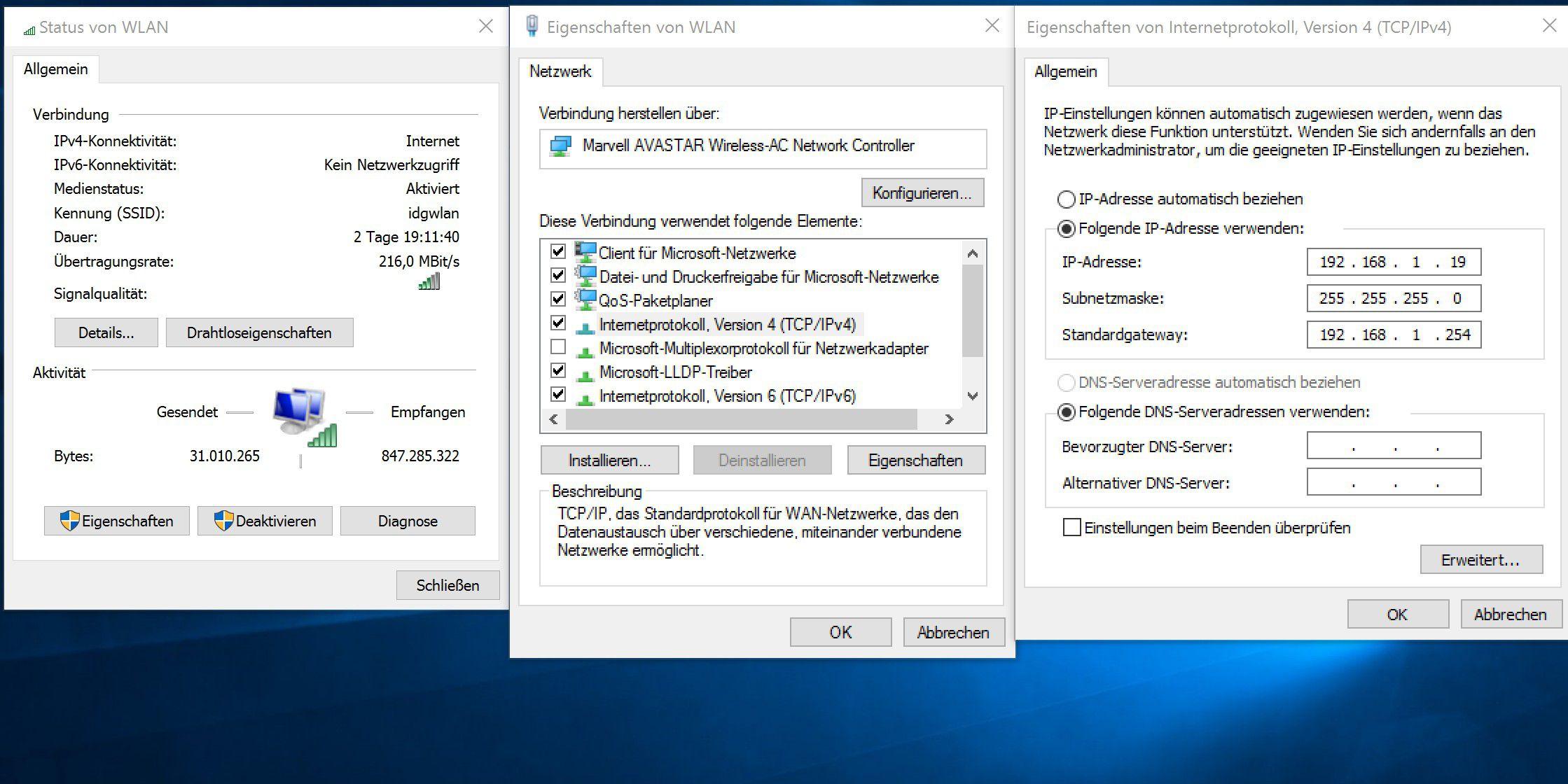 Fenster ändern IP-Adresse : Mcgill universität vpn