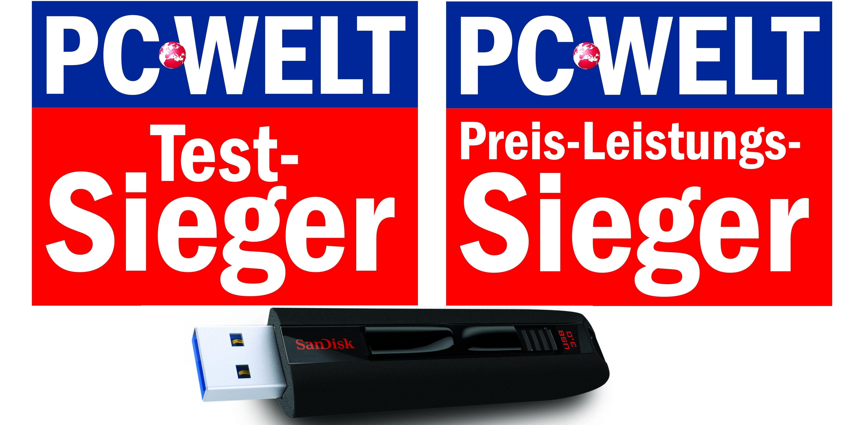 Usb 30 Sticks Mit 64 Gigabyte Im Test Pc Welt Sandisk Ultra 16gb Cz48 Flash Disk Original Vergrern Doppelsieg Fr Den Extreme 64gb