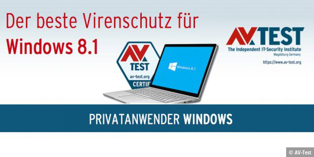 Antivirus für Windows 8.1 im Test