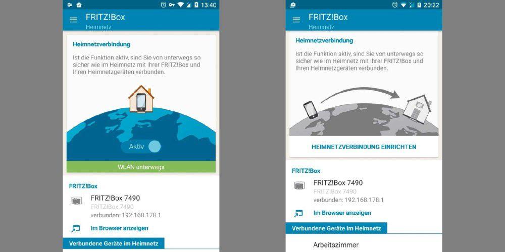 fritzbox heimnetzzugang per app einrichten pc welt. Black Bedroom Furniture Sets. Home Design Ideas